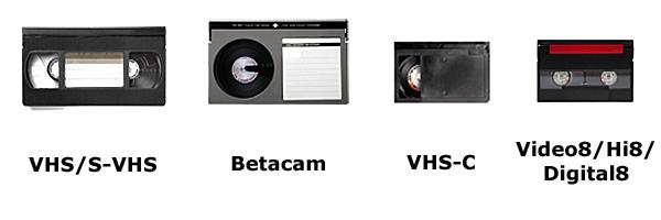 Videotape Formats
